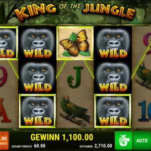 King of the Jungle von Bally Wulff