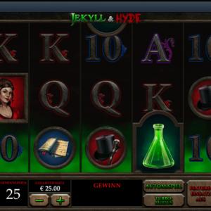 Jekyll & Hyde Spielautomat von Playtech