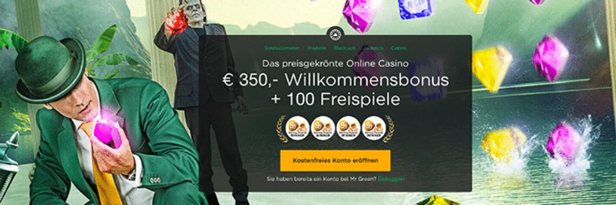 Mr. Green präsentiert: Schatzsuche mit neuem Bonanza Slot