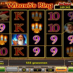 Wizard's Ring von Novoline