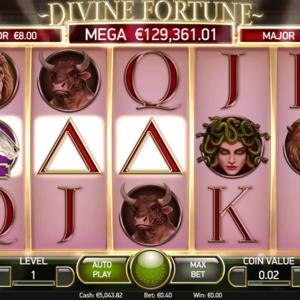 Divine Fortune Jackpot-Slot von NetEnt