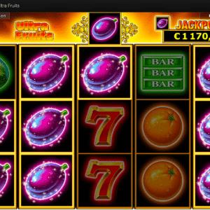 Ultra Fruits Spielautomat von Novoline