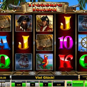Treasure Island von Lionline