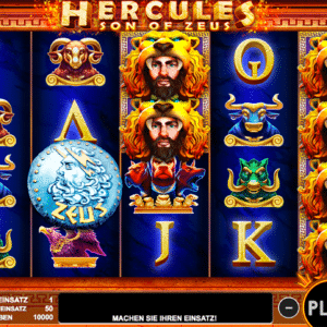 Hercules Son of Zeus Slot von Pragmatic Play